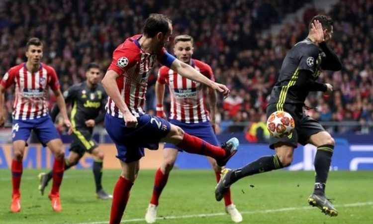 Diego Godin's goal was his first Champions League strike since 2014 (Image credit: Getty Images)