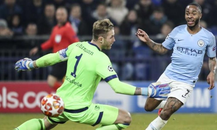 Sterling scored his 16th goal of the season for City (Image credit: EPA)