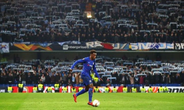allum Hudson-Odoi has scored three goals in his last six starts for Chelsea in all competitions (Image credit: Getty Images)