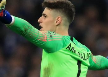 Chelsea signed Kepa Arrizabalaga from Athletic Bilbao for a club record £71m in August 2018 (Image credit: Getty Images)