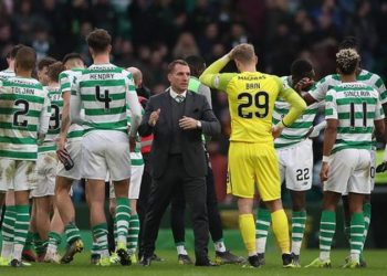 Brendan Rodgers' Celtic are eight points clear at the top of the Scottish Premiership (Image credit: Getty Images)