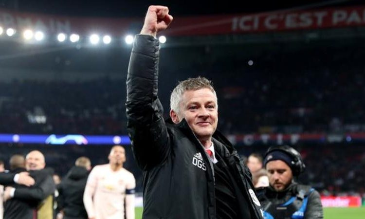 Ole Gunnar Solskjaer helped Manchester United reach the quarter-finals of the Champions League (Image credit: Getty Images)