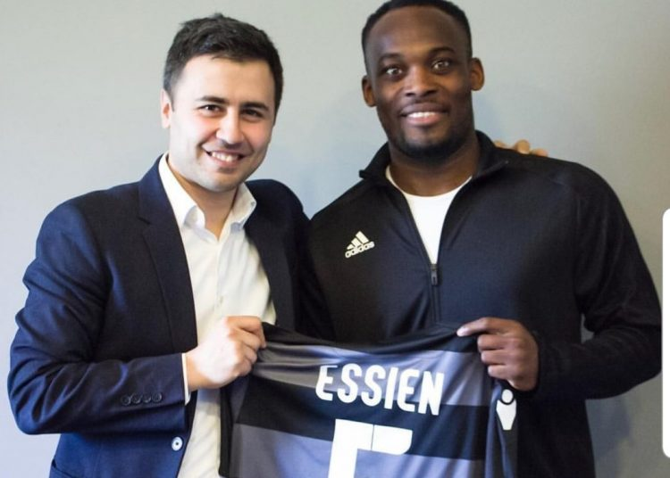 Michael Essien signs for Sabail FC