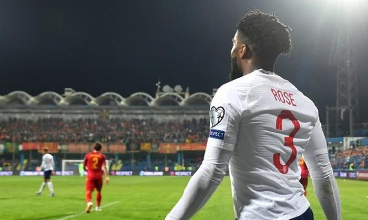 Danny Rose made his England debut in 2016 and has 26 caps (Image credit: Getty Images)