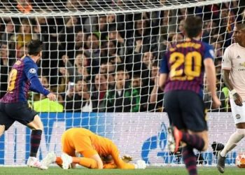 Messi has 45 goals in just 42 appearances in all competitions for Barcelona this season (Image credit: Getty Images)