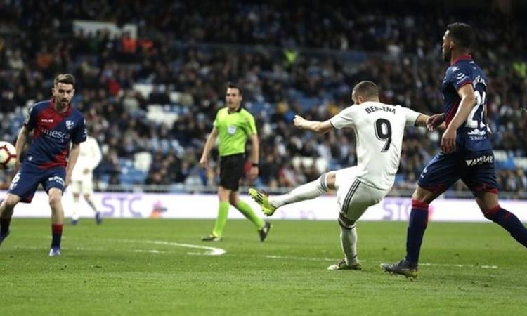 Benzema has scored 14 league goals this season