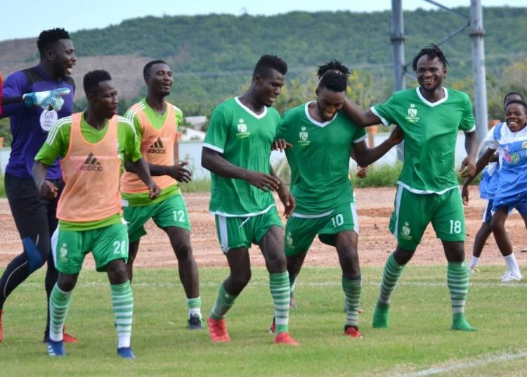 Mean defence: Elmina Sharks conceded no goals in the first round of the NC Special Competition