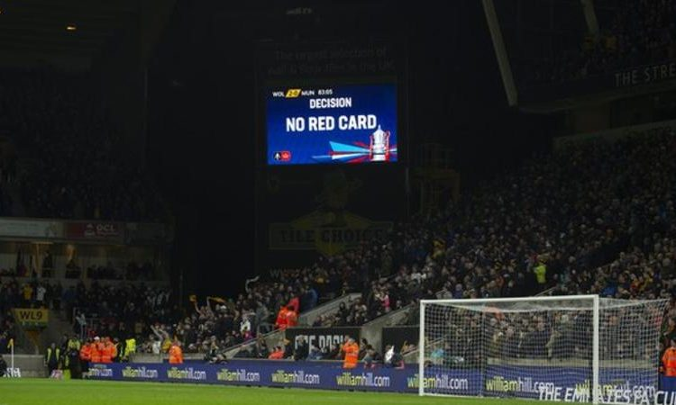 The Big screen at the Molineux