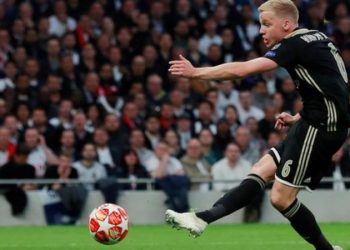 Ajax had eliminated Real Madrid and Juventus in the past two rounds of the Champions League (Image credit: Reuters)