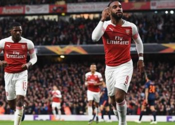 Alexandre Lacazette has scored four goals in his last eight games for Arsenal (Image credit: Getty Images)