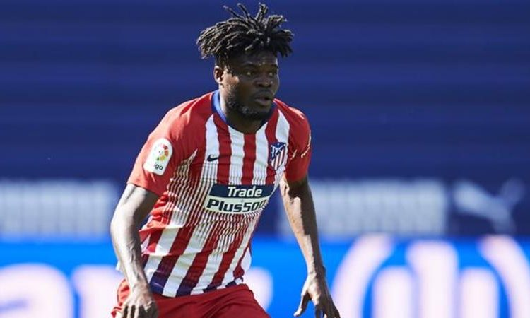 Ghana and Atletico Madrid's Thomas Partey is aiming for success at the Africa Cup of Nations finals (Image credit: Getty Images)
