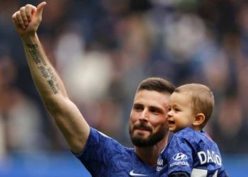 Olivier Giroud helped Chelsea to a third-place finish in the Premier League (Image credit: Getty Images)