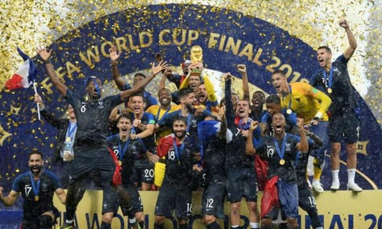 France won the 2018 World Cup in Russia (Image credit: Getty Images)