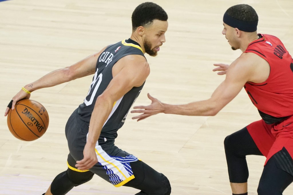 NBA: Warriors Stage A Comeback To Beat The Blazers In WCF
