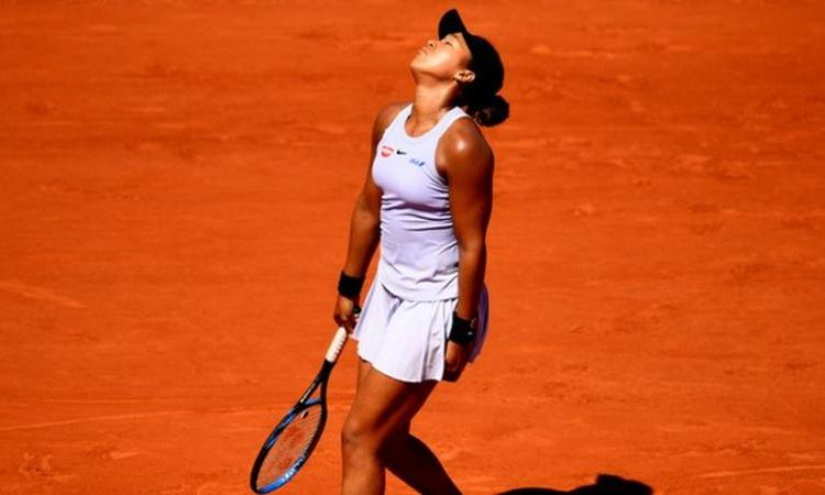 Osaka withdrew from the Italian Open quarter-finals in May because of an injury to her right hand (Image credit: Getty Images)