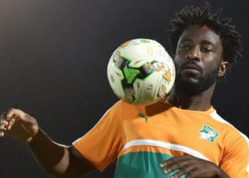 Wilfried Bony is set to play at Egypt 2019 after being named in Ivory Coast's final 23-man squad (Image credit: Getty Images)