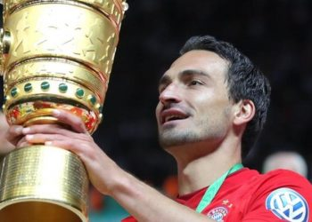 Hummels leaves Bayern having helped them to the German domestic double in 2019 (Image credit: Getty Images)