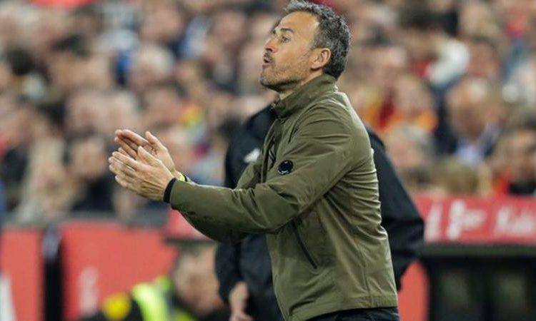 Luis Enrique's last game in charge was a 2-1 victory over Norway in a Euro 2020 qualifier in March (Image credit: Getty Images)