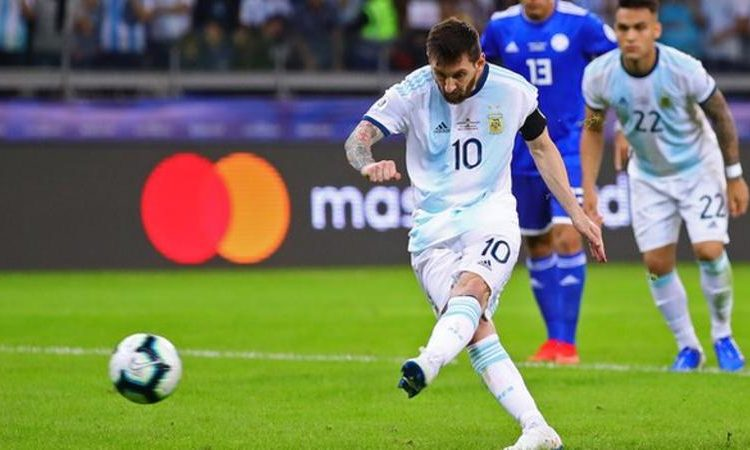 The Barcelona forward is playing at his eighth major tournament with Argentina and has already lost four major finals (Image credit: Getty Images)