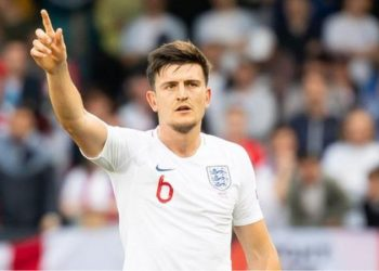 Harry Maguire has been capped 20 times by England (Image credit: Getty Images)