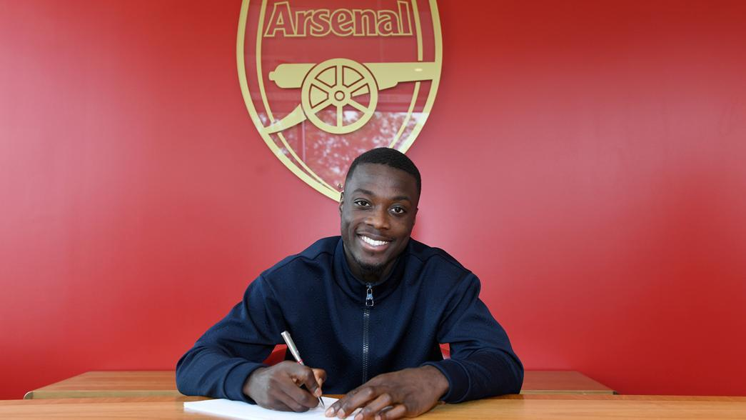 donkomi arsenal officially signs nicolas pepe citi. Black Bedroom Furniture Sets. Home Design Ideas