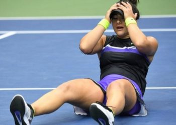 Bianca Andreescu was appearing in the main draw of the US Open for the first time (Image credit: Getty Images)