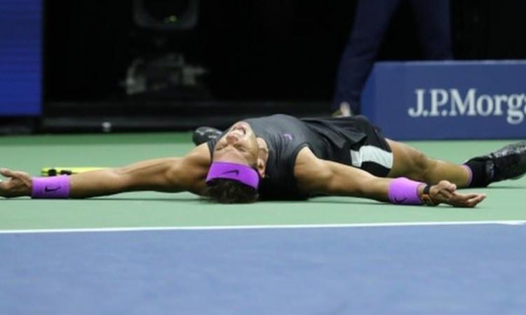 Rafael Nadal won his previous US Open titles in 2010, 2013 and 2017 (Image credit: Getty Images)