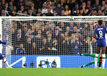 Ross Barkley was the first Englishman to take a penalty for Chelsea since Frank Lampard in April 2014 (Image credit: Getty Images)