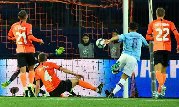 Gundogan scored his first goal of the season for Manchester City (Image credit: Getty Images)
