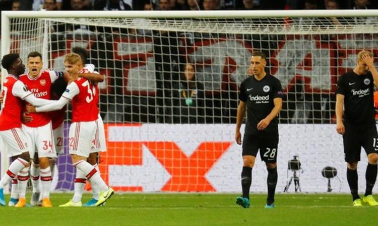 Arsenal lost against Chelsea in last year's Europa League final (Image credit: Reuters)