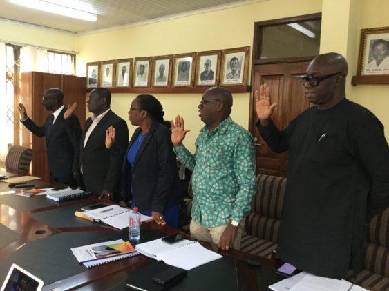 Members of GFA Vetting Committee
