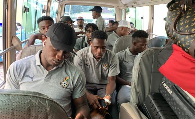 Hospitality Or Folly? Black Meteors' Players Aggrieved Over The Poor Treatment Meted Out To Them As Compared To That Of The Algerians - EOnlineGH.Com