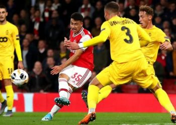 Gabriel Martinelli was Arsenal's first signing in the summer (Image credit: Getty Images)