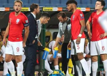 There were two halts in play in the first half due to incidents of racist abuse (Image credit: Getty Images)