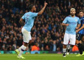 Sterling has scored 16 goals in 17 appearances for club and country this season ((mage credit: Getty Images)
