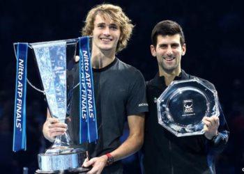 Djokovic lost to Alexander Zverev in last year's final (Image credit: Getty Images)