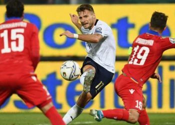 Lazio striker Immobile has scored 19 goals in 18 games for club and country this season (Image credit: Getty Images)