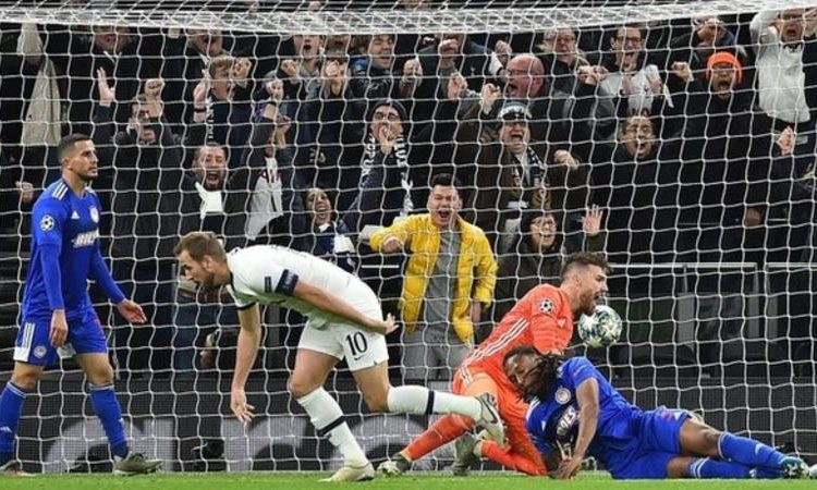 Harry Kane has scored 20 Champions League goals in 24 games. No player has ever reached that landmark quicker. The previous record was by Alessandro del Piero, who took 26 games (Image credit: Getty Images)