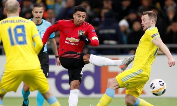 Jesse Lingard scored just his second goal of 2019 for Manchester United, and his first in 29 appearances in all competitions since netting against Arsenal in the FA Cup in January, 307 days ago (Image credit: Reuters)
