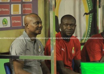 C.K Akonnor [right] replaces Kwesi Appiah as Black Stars coach