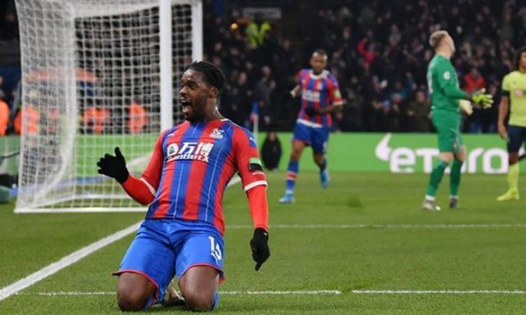 The goal was Schlupp's second in as many games after scoring against Burnley (Image credit: Getty Images)