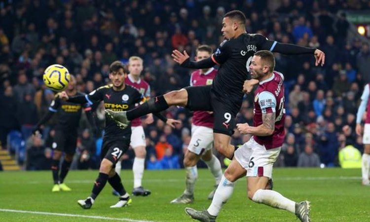 All of Gabriel Jesus' last 11 goals for Manchester City have been scored away from home (Image credit: Getty Images)