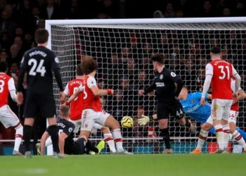 Arsenal have failed to keep a clean sheet in their last 11 matches in all competitions since beating Bournemouth 1-0 on 6 October (Image credit: PA Media)