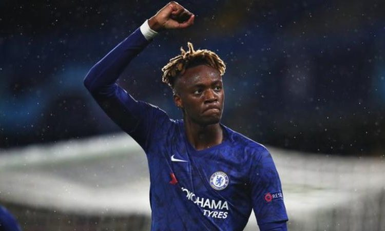 Tammy Abraham has scored 13 goals in all competitions this season for Chelsea (Image credit: Getty Images)