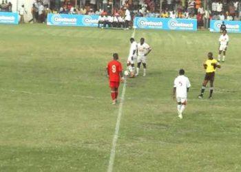 Hearts and Kotoko playing a game at the Robert Mensah Stadium [File Photo]