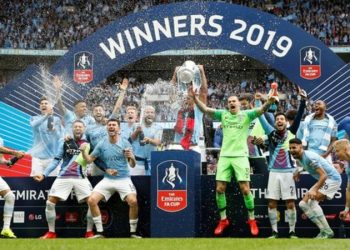 Manchester City beat Watford 6-0 in the 2019 FA Cup final (Image credit: Getty Images)