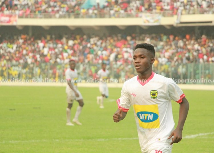 Matthew Cudjoe was introduced into the game and was influential.   Hearts of Oak vs Asante Kotoko - 26-01-20