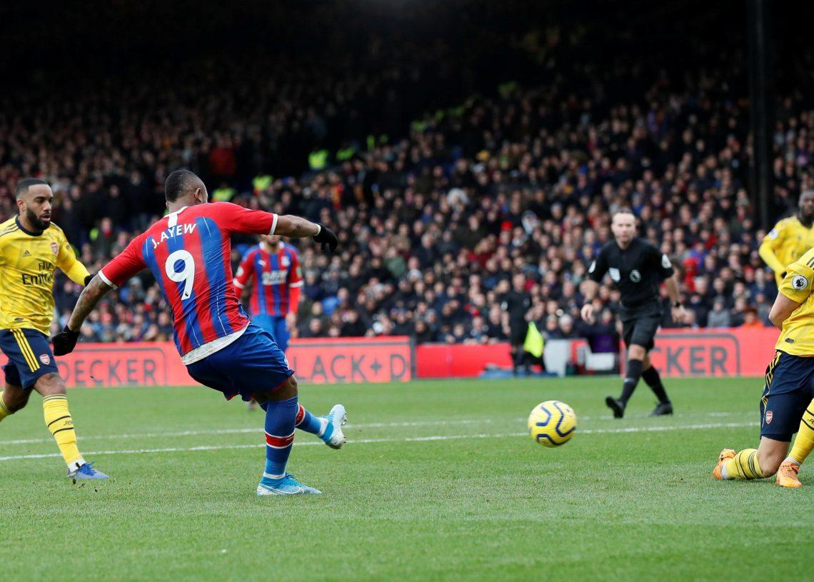 Jordan scored leveller for Palace against Arsenal in January