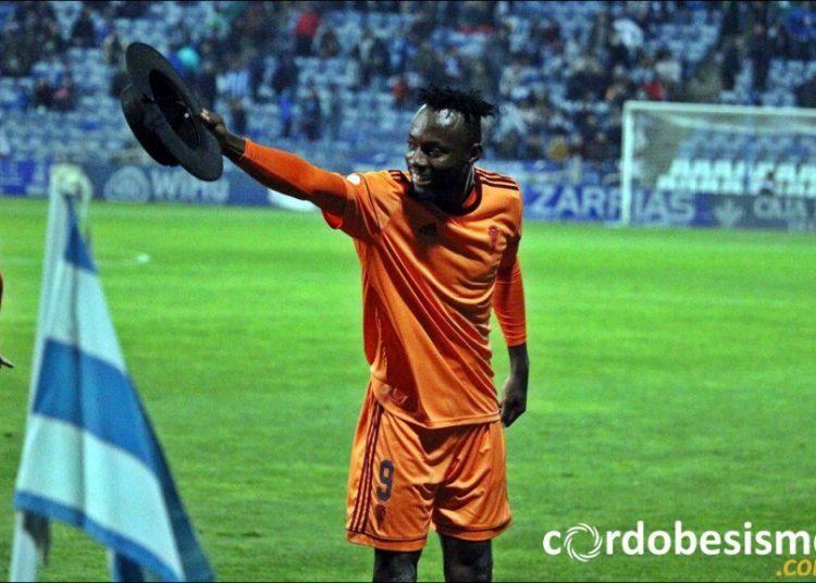 Kwabena Owusu scored his fifth goal of the season for Cordoba CF