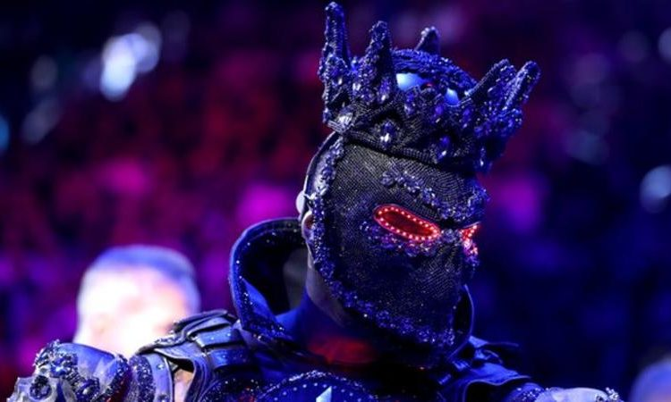 Deontay Wilder said his costume was a tribute to Black History Month (Image credit: Getty Images)
